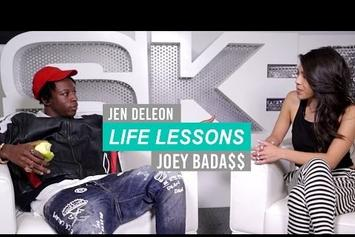 """Joey Bada$$ Gives His """"Life Lessons"""""""