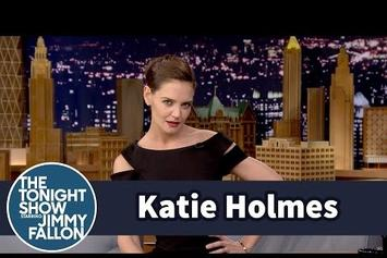 Katie Holmes Does Her Best Beyonce Impression