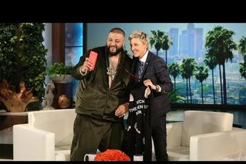 "DJ Khaled Talks Positivity & ""They"" On ""Ellen"""