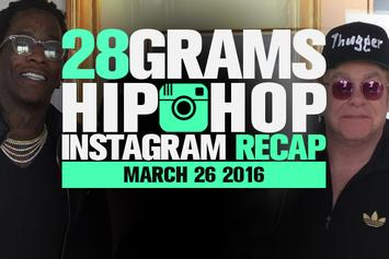 28 Grams: Hip-Hop Instagram Recap (March 26)
