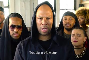 """Common & Malik Yusef """"Trouble In The Water"""" Video"""