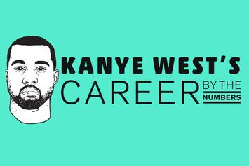Kanye West's Career By The Numbers
