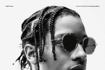 ASAP Rocky Stars In New Dior Homme Campaign