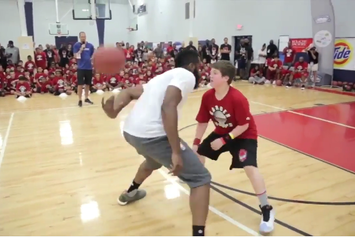 James Harden Schools A Young Camper With A Classic And1 Mixtape Move