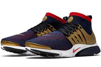 "Release Date Announced For The ""Olympic"" Nike Air Presto Ultra Flyknit"