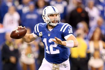 Andrew Luck Becomes Highest Paid Player In NFL History With New Contract Extension