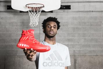 "Adidas Reveals The ""Crazy Explosive"" To Be Worn By Andrew Wiggins"