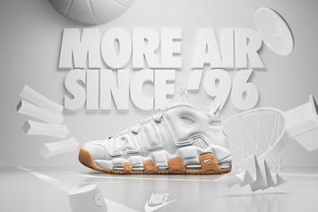 """New Released Date Announced For The """"White/Gum"""" Nike Air More Uptempo"""