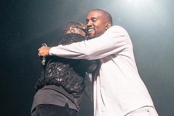 Diddy Brings Out Kanye West In New York