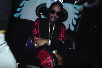 "Juicy J ""Waste No Time"" Video"