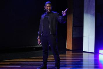 "Usher Performs ""Crash"" On Ellen"