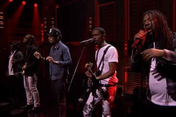 """Chance The Rapper Performs """"Blessings"""" With Ty Dolla $ign, D.R.A.M, Anthony Hamilton & Raury Live On Jimmy Fallon"""