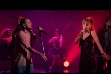 "Mac Miller & Ariana Grande Perform ""My Favorite Part"""