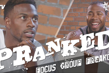 "Watch Josh Norman Prank Emmanuel Sanders During ""Focus Group"" Session"
