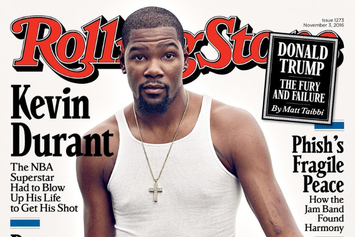 Twitter Roasts Kevin Durant For His Rolling Stone Cover