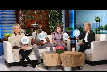 Martha Stewart Admits She's Into Sexting On Ellen