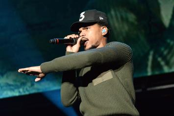 Chance The Rapper Leads Parade Of Fans Through Streets Of Chicago To Polling Site