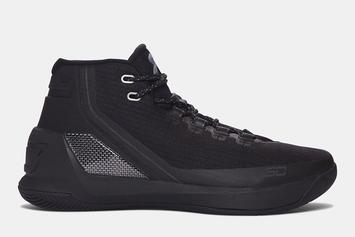 "Stephen Curry's ""Black Friday"" Under Armour Curry 3 Revealed"