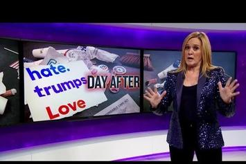 Samantha Bee Blames White People For Donald Trump's Victory
