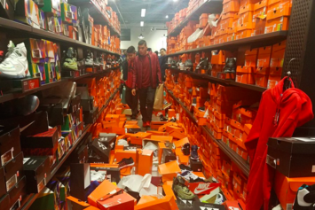 This Nike Outlet Got Absolutely Destroyed On Black Friday