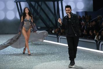 "The Weeknd Performs ""Starboy"" At 2016 Victoria Secret ""Fashion Show"""