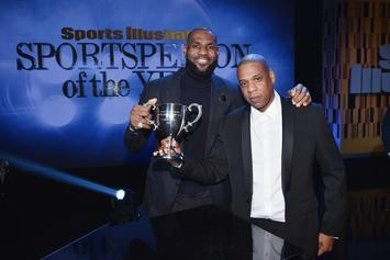 """Jay Z Throws Shade At Phil Jackson's """"Posse"""" Comments While Introducing Lebron James"""