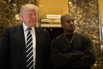 "Kanye West & Donald Trump Meet: ""We've Been Friends For A Long Time"""