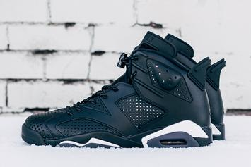 """Black Cat"" Air Jordan 6 Will Be The Last Air Jordan Release Of 2016"