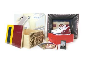 """StockX Launches Special Edition """"Cavs Championship Court"""" LeBron Sneaker Pack"""