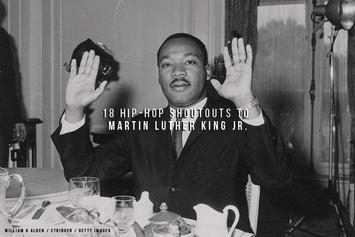 18 Hip-Hop Shoutouts To Martin Luther King Jr.