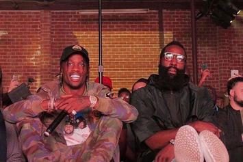 James Harden Teases New Travis Scott Record On Snapchat