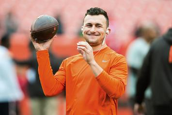 Johnny Manziel Is Reportedly Charging $50 For Selfies At The Super Bowl