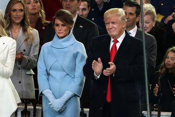 President Trump Leads Standing Ovation For Hillary Clinton At Inauguration
