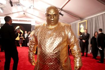 Twitter Is Roasting CeeLo Green's Bizarre Gold Grammys Outfit