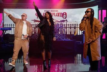 "Watch Fat Joe, Remy Ma & Ty Dolla $ign Perform ""Money Showers"" On Jimmy Kimmel Live"