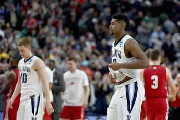 #1 Overall Seed Villanova Upset In Second Round Of NCAA Tournament