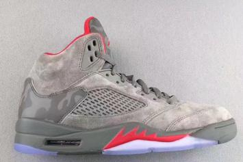 """""""Camo"""" Air Jordan 5s Are Reportedly Releasing This Summer"""