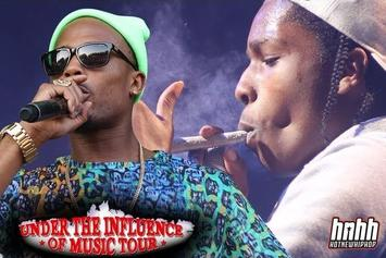 Under The Influence Of Music Tour ft. Berner, Wiz Khalifa, Asap Rocky and more. (Episode 4)