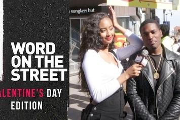 Word On The Street: Valentine's Day