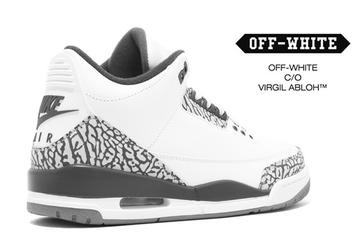 Off-White x Air Jordan 3 Collab Will Reportedly Debut This Month