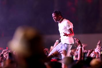 "Travis Scott Gives Fan Ring For Knowing ""3500"" Lyrics"