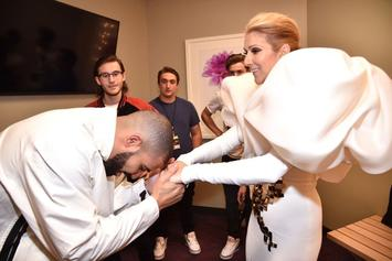 Drake Plotting Celine Dion Tattoo