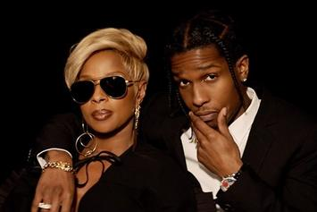 "Mary J. Blige Feat. A$AP Rocky ""Love Yourself"" Video"