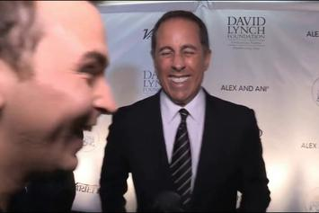 """Curved! Jerry Seinfeld Denies Kesha's Hug Attempt Cause He """"Didn't Know Who That Was""""!!"""