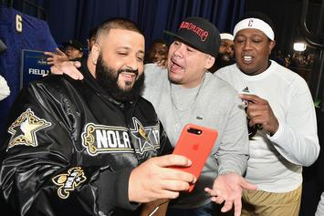 "DJ Khaled Appears In ""Spider-Man: Homecoming"" NBA Finals Spot"