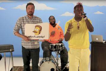 """Lil Yachty Raps About 59 """"The Simpsons"""" Characters"""