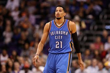"""OKC's Andre Roberson Called Out For Leaving """"Cheap Tip"""" On $500 Bill"""