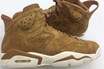 """Golden Harvest"" Air Jordan 6 Leaked Images Unveiled"