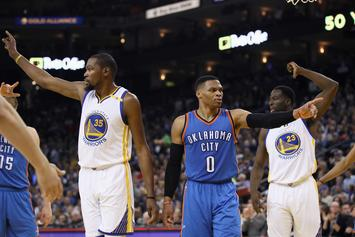 "Paul George: Russell Westbrook And Kevin Durant Are ""Buddies"" Again"