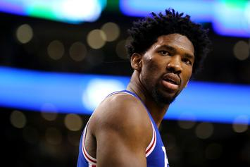 Joel Embiid Isn't Happy With His NBA 2K18 Rating